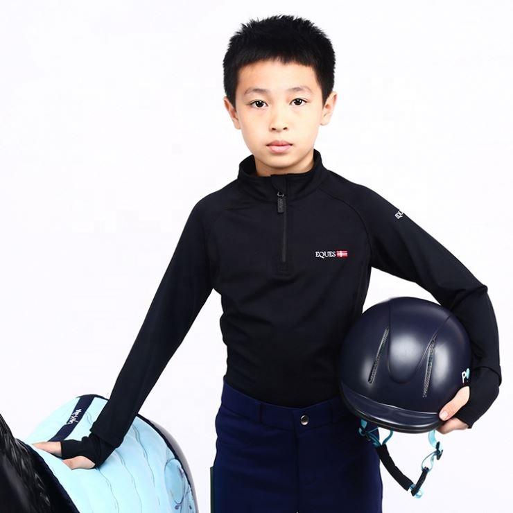 兒童長袖騎術上衣