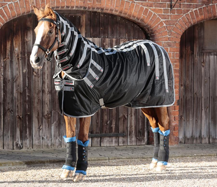 磁療保健馬衣 附脖套